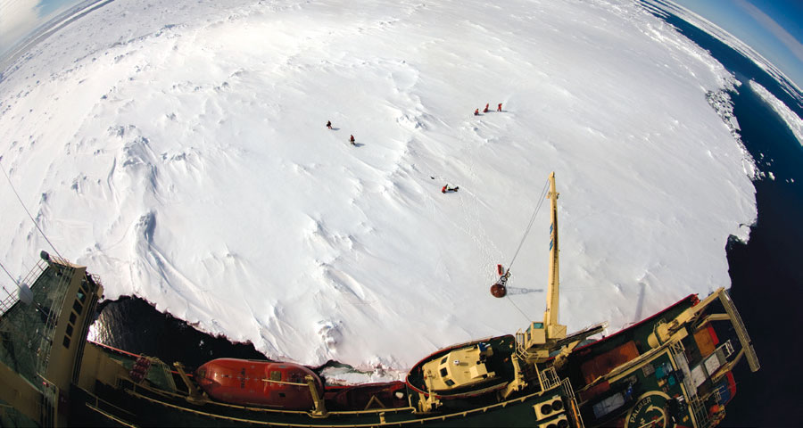 Antarctic Sea Ice — A Polar Opposite?
