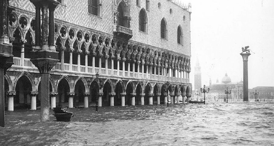 The 1966 Flooding of Venice